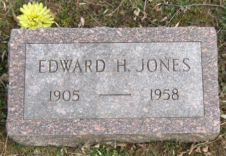 JONES, EDWARD HOWARD - Jasper County, Iowa   EDWARD HOWARD JONES