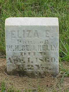 KELLY, ELIZA - Jasper County, Iowa   ELIZA KELLY