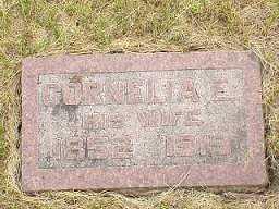 KENNEDY, CORNELIA E. - Jasper County, Iowa   CORNELIA E. KENNEDY
