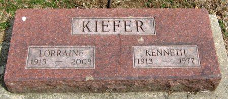 KIEFER, LORRAINE - Jasper County, Iowa | LORRAINE KIEFER