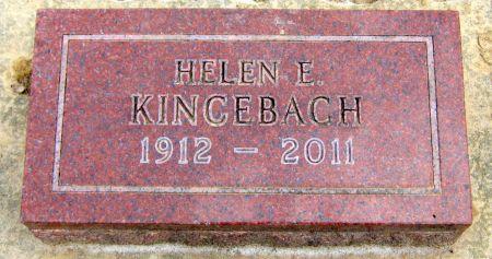 KINCEBACH, HELEN E. - Jasper County, Iowa | HELEN E. KINCEBACH