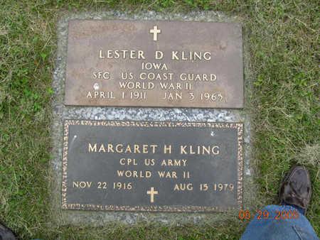KLING, LESTER D. - Jasper County, Iowa | LESTER D. KLING