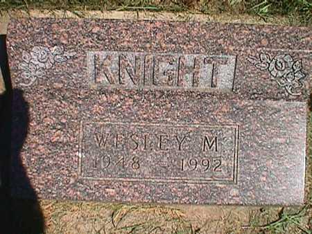 KNIGHT, WESLEY MERRILL - Jasper County, Iowa | WESLEY MERRILL KNIGHT