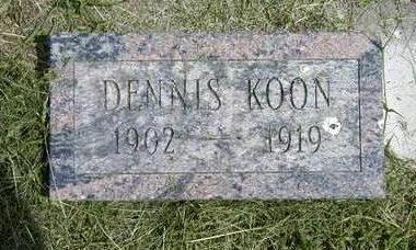 KOON, DENNIS - Jasper County, Iowa | DENNIS KOON