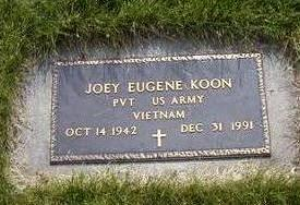 KOON, JOEY - Jasper County, Iowa | JOEY KOON