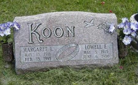 KOON, MARGARET - Jasper County, Iowa | MARGARET KOON