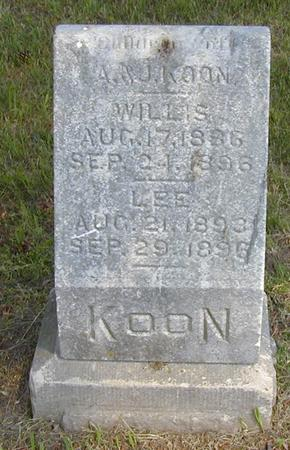 KOON, WILLIS - Jasper County, Iowa | WILLIS KOON