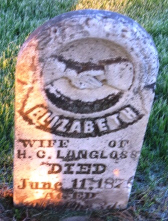 LANGLOSS, ELIZABETH - Jasper County, Iowa | ELIZABETH LANGLOSS
