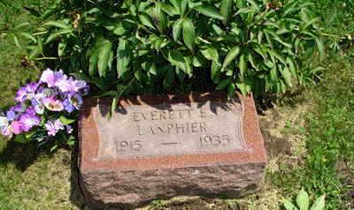 LANPHIER, EVERETT  E. - Jasper County, Iowa | EVERETT  E. LANPHIER