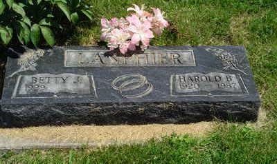 LANPHIER, HAROLD BLAINE - Jasper County, Iowa | HAROLD BLAINE LANPHIER