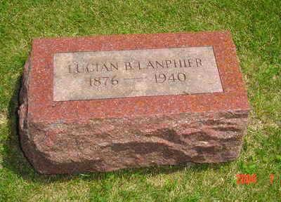 LANPHIER, LUCIAN B. - Jasper County, Iowa | LUCIAN B. LANPHIER