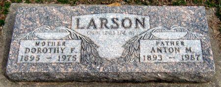 LARSON, ANTON M. - Jasper County, Iowa | ANTON M. LARSON