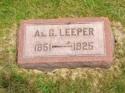 LEEPER, ALBERT G. - Jasper County, Iowa   ALBERT G. LEEPER