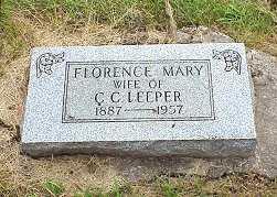 LEEPER, FLORENCE - Jasper County, Iowa | FLORENCE LEEPER