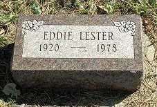LESTER, EDDIE - Jasper County, Iowa | EDDIE LESTER