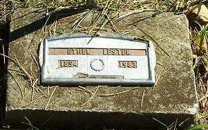 LESTER, ETHEL - Jasper County, Iowa | ETHEL LESTER