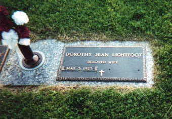 BLAIR LIGHTFOOT, DOROTHY - Jasper County, Iowa | DOROTHY BLAIR LIGHTFOOT