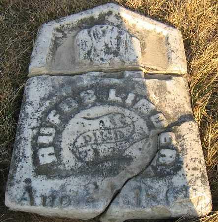 LINDER, RUFUS - Jasper County, Iowa | RUFUS LINDER