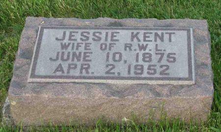 KENT LIVINGSTON, JESSIE - Jasper County, Iowa | JESSIE KENT LIVINGSTON