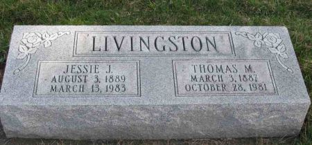LIVINGSTON, JESSIE J. - Jasper County, Iowa | JESSIE J. LIVINGSTON