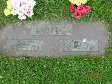 BRUNNER LONG, EDNA MAUD - Jasper County, Iowa | EDNA MAUD BRUNNER LONG