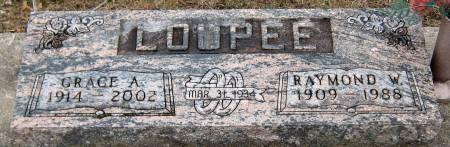 LOUPEE, RAYMOND WALLACE - Jasper County, Iowa | RAYMOND WALLACE LOUPEE