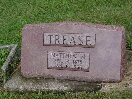 TREASE, MATTHEW M. - Jasper County, Iowa | MATTHEW M. TREASE