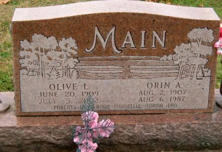 MAIN, ORIN A. - Jasper County, Iowa | ORIN A. MAIN
