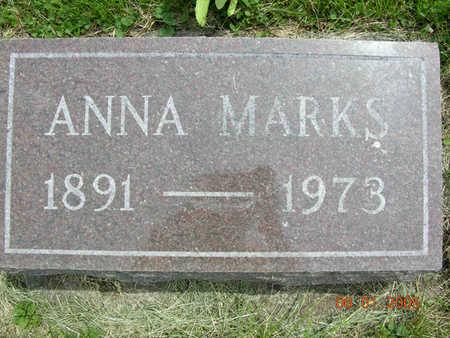 MARKS, ANNA - Jasper County, Iowa | ANNA MARKS