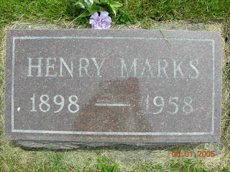 MARKS, JOHN HENRY - Jasper County, Iowa | JOHN HENRY MARKS