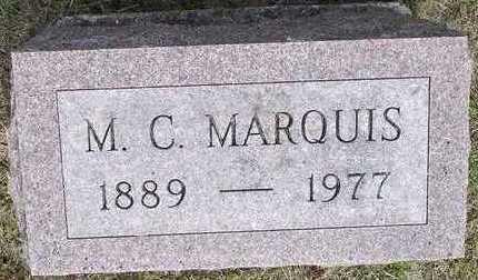 MARQUIS, MAURIC CLIFFORD - Jasper County, Iowa | MAURIC CLIFFORD MARQUIS
