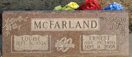 MCFARLAND, F. LOUISE - Jasper County, Iowa | F. LOUISE MCFARLAND