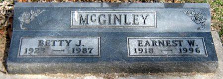 MCGINLEY, EARNEST W. - Jasper County, Iowa   EARNEST W. MCGINLEY