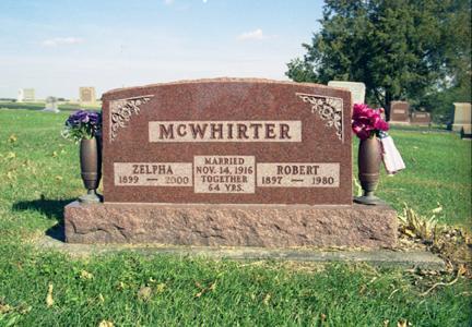 MCWHIRTER, ROBERT - Jasper County, Iowa | ROBERT MCWHIRTER