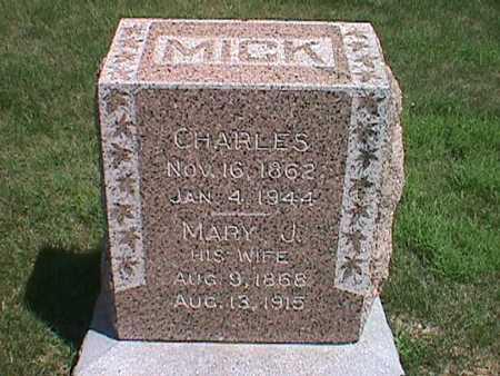 HOLMES MICK, MARY JANE - Jasper County, Iowa | MARY JANE HOLMES MICK