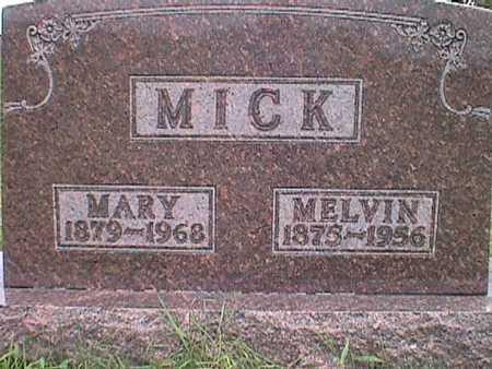 WEIDEMAN MICK, MARY ANN - Jasper County, Iowa | MARY ANN WEIDEMAN MICK