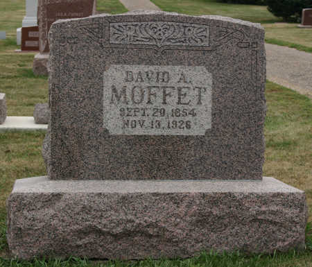 MOFFET, DAVID A. - Jasper County, Iowa | DAVID A. MOFFET