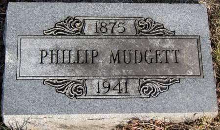 MUDGETT, PHILLIP - Jasper County, Iowa   PHILLIP MUDGETT