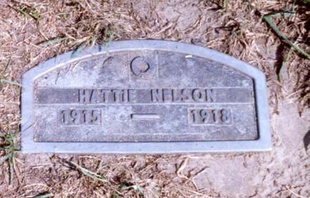 NELSON, HATTIE - Jasper County, Iowa | HATTIE NELSON