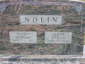NOLIN, ROBENA - Jasper County, Iowa | ROBENA NOLIN