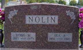 NOLIN, ROSY M - Jasper County, Iowa | ROSY M NOLIN