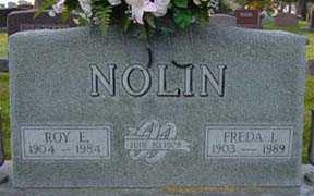 NOLIN, FREDA L - Jasper County, Iowa | FREDA L NOLIN
