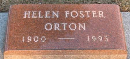 ORTON, HELEN - Jasper County, Iowa   HELEN ORTON