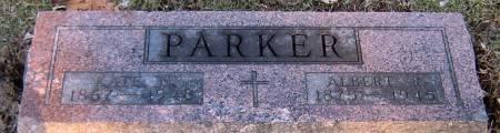 PARKER, ALBERT R. - Jasper County, Iowa   ALBERT R. PARKER
