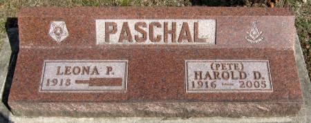 PASCHAL, LEONA P. - Jasper County, Iowa | LEONA P. PASCHAL
