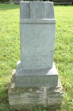 PENDER, LEWIS - Jasper County, Iowa | LEWIS PENDER