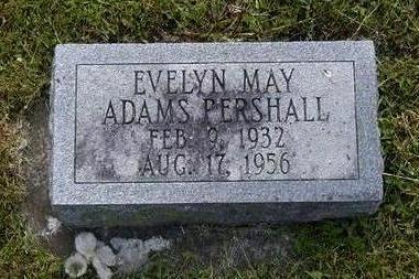 ADAMS PERSHALL, EVELYN - Jasper County, Iowa | EVELYN ADAMS PERSHALL