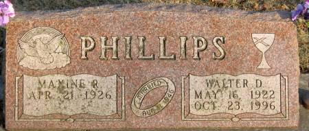 PHILLIPS, MAXINE R. - Jasper County, Iowa | MAXINE R. PHILLIPS