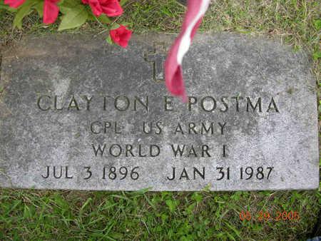 POSTMA, CLAYTON ELROY - Jasper County, Iowa | CLAYTON ELROY POSTMA