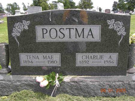 POSTMA, CHARLES ALBERT - Jasper County, Iowa | CHARLES ALBERT POSTMA